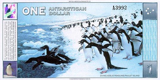 Antarctican 1 Dollar